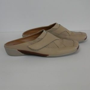 Sesto Meucci Slip On Beige Shoes - VGC